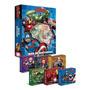 Box Livro Os Vingadores Com 6 Mini Livros Avengers Marvel