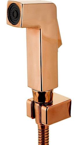Ducha Higiênica Para Banheiro Jacuí Pingoo - Dourado Rose