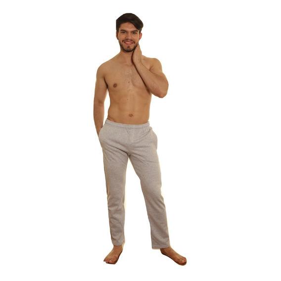 Pantalón Hombre Friza Invisible Reactiva Puro Algodón