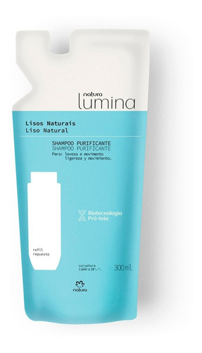 Shampoo Natura Cabello Liso