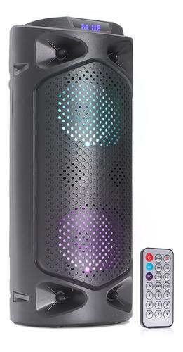 Caixa De Som Bluetooth Amplificada Portatil Pc Tv Usb P2 Fm
