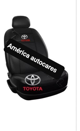 Fundas Cubre Asientos P/ Toyota Etios Eco Cuero
