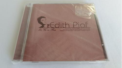 Cd Edith Piaf - La Vie Em Rose