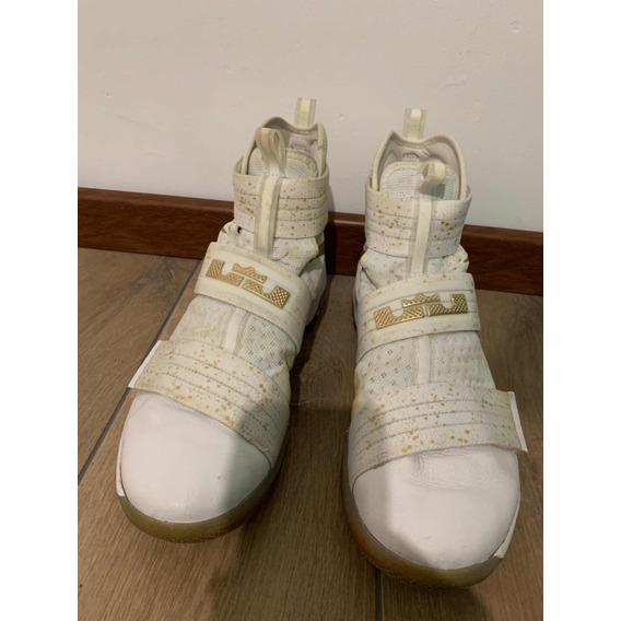 Zapatillas Nike Lebron Soldier X 10 Basquetbol Nba 12 Us