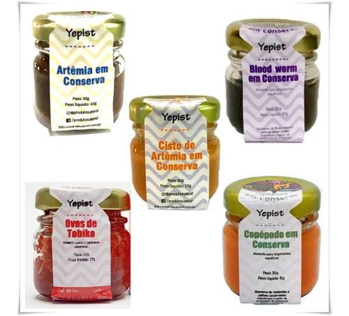 Alimentos Naturais Yepist  Kit Com 5 Alimentos Em Conserva