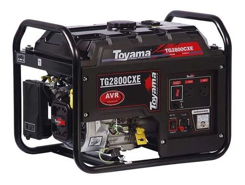 Gerador A Gasolina 2.5kva Sensor De Oleo - Tg2800cx Toyama