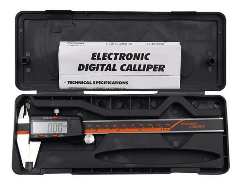 Calibrador Aceroinox Digital Pie D Rey/ Vernier/ 150+estuche