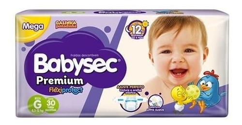 Fralda Infantil Babysec Premium
