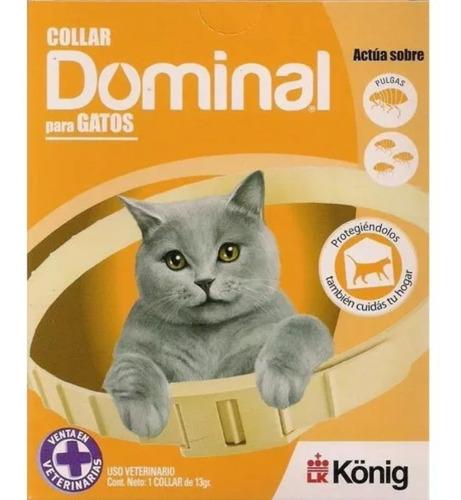 Collar Dominal Antipulgas Para Gatos Envío Gratis