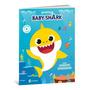 Livro De Atividades Baby Shark Infantil Educativo Culturama