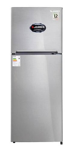 Heladera Inverter No Frost James J501 Inv Simil Acero Inoxidable Con Freezer 361l 220v - 230v