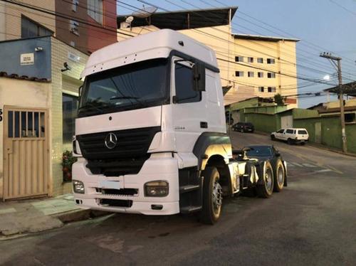 Mb Axor 2544 6x2 Ano 2010 Motor Novo.