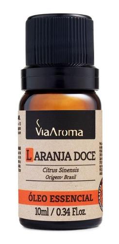 Oleo Essencial Laranja Doce Puro Via Aroma 10ml Aromaterapia