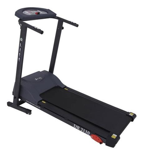 Esteira Elétrica Dream Fitness Dr 2110 110v/220v Preta