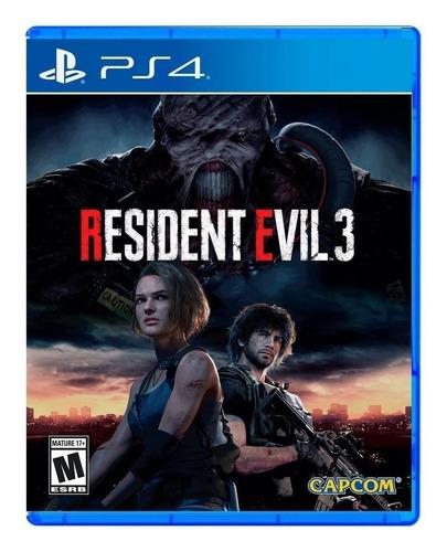 Resident Evil 3 Remake Capcom Ps4 Físico