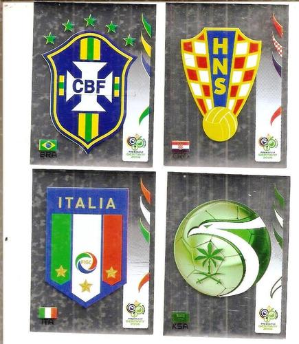 Figurinhas Copa 2006 - Escudos Brilhosos - Figurinha Zero