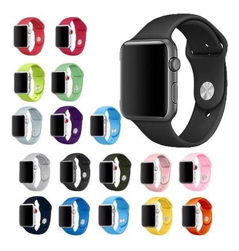 Pulseira Sport Para Apple Watch Iwo 38mm 40mm 42mm 44mm 4 5
