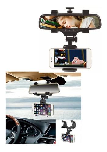 Holder Soporte Celular Carro Auto Espejo Retrovisor Videos