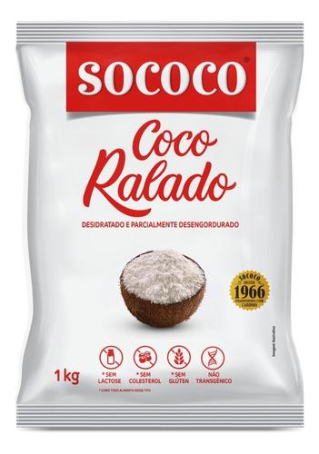 Coco Ralado 1kg - Sococo