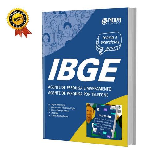 Apostila Agente De Pesquisa Mapeamento E Por Telefone Ibge