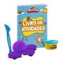 Livro Kit Atividades C Moldes/espátula/massinha Play doh Rox