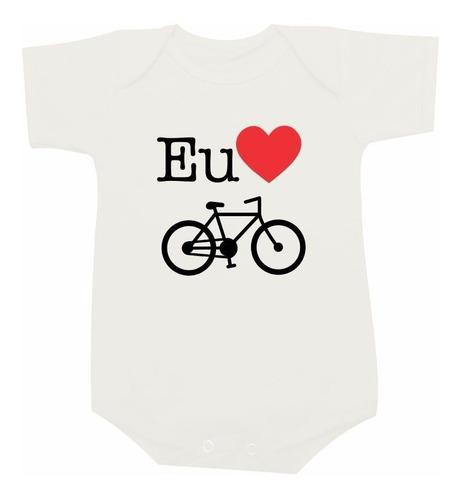 Body Eu Amo Bike Bicicleta Ciclismo Pedal Speed Mountain Original