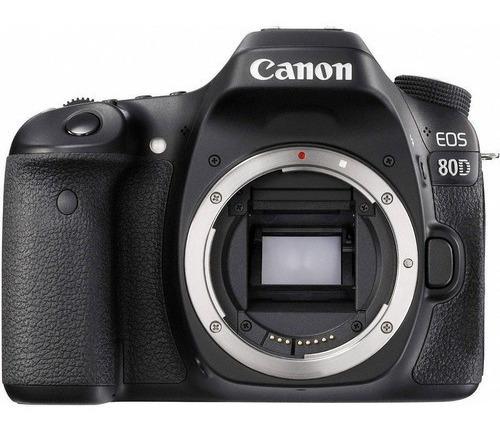 Canon Eos 80d Dslr Cor  Preto   Pronta Entrega