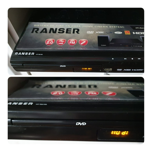 Dvd Ranser Sistema De Audio 2.1 Mod Ht-ra100