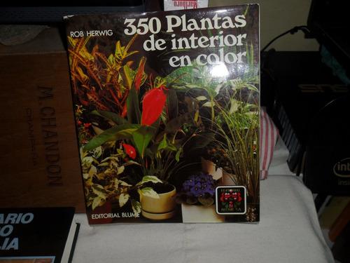 350 Plantas De Interior En Color-rob Herwig