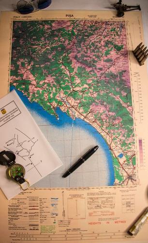 Carta Topográfica Da Feb - Pisa 1: 250.000