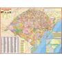 Mapa Estado Do Rio Grande Do Sul Sc 120cm X 90cm Gigante