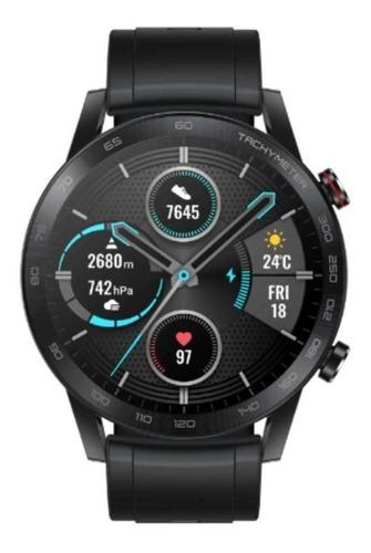 Smartwatch Honor Magicwatch 2 1.39  Caja 46mm De  Acero Inoxidable Malla  Charcoal Black De  Fluoroelastómero Mns-b19