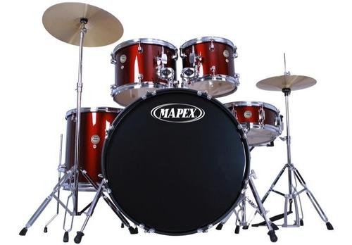 Bateria Musical Mapex Completa Platillos Y Asiento