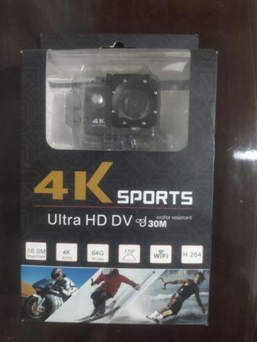 Câmera 4k Sports Ultra Hd Dv 30m