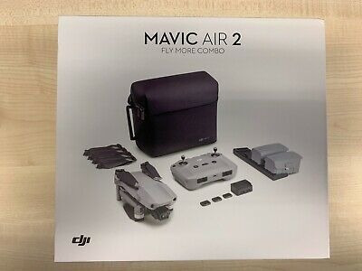 Dji Mavic Air 2 Drone Fly More Combo - Grey Fast Delivery