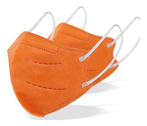 Kit 5 Máscaras Kn95 Proteção 5 Camada Respiratória Pff2 N95