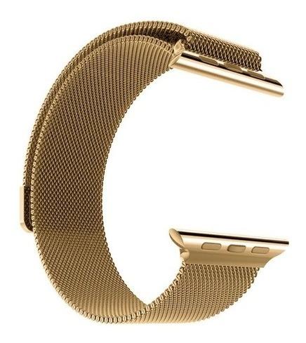 Pulseira Milanese Compatível Com Apple Watch E Iwo 8, 9, 10