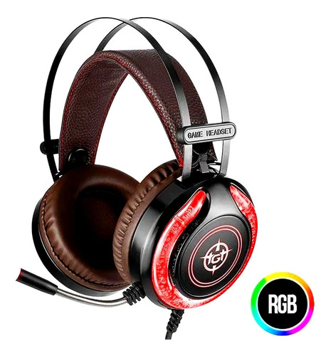 Headset Gamer Tgt Storm Tgt-sto-01  Led Rgb