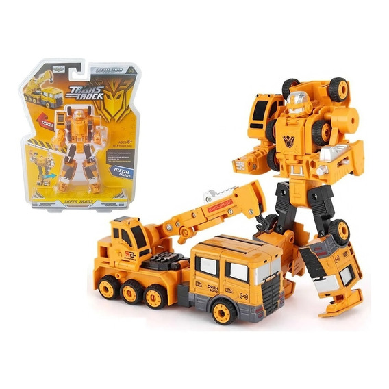 Transformer Vehiculos De Construcción De Metal
