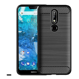 Funda Tpu Nokia 5.1 Plus Flexible Mas Templado Full Real