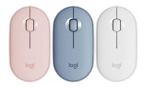 Mouse Inalámbrico Logitech Pebble M350 Silencioso