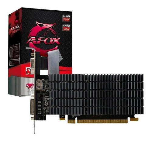 Placa De Vídeo Amd Afox  Radeon R5 200 Series R5 220 Afr5220-2048d3l9-v2 2gb
