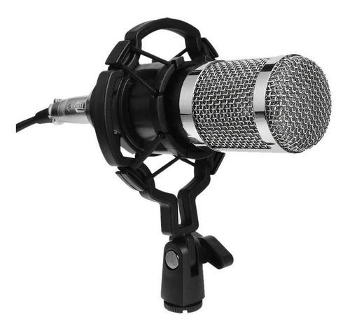 Microfone Condensador Dinâmico Bm800