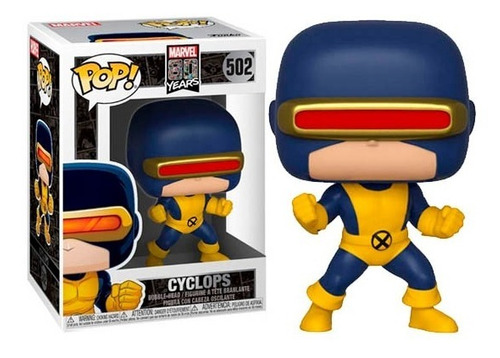 Funko Pop Marvel 80 Years Cyclops 502 Nuevo Vdgmrs