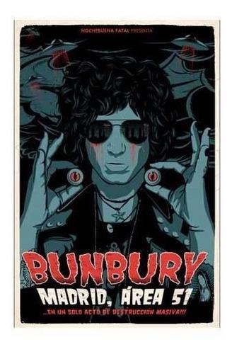 Bunbury En Un Solo Acto De Destruccion Masiva, Bluray Nuevo
