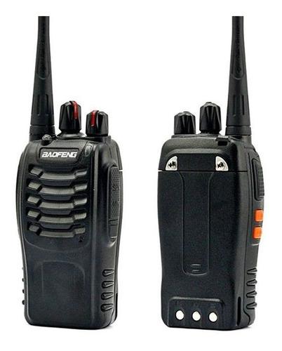 2 Walkie Toki Baofeng Radio Teléfono Largo Alcance Bf 888s