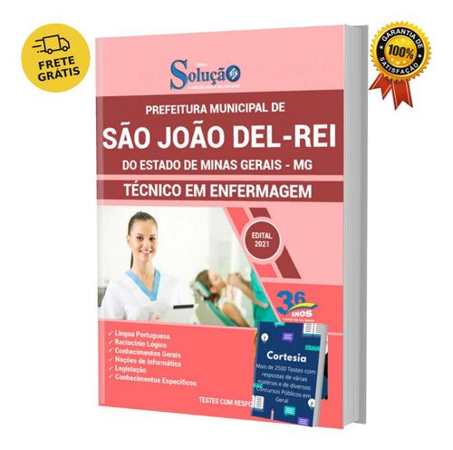 Apostila São João Del rei Mg Técnico Em Enfermagem