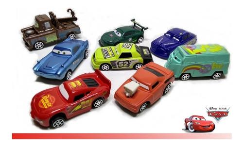 Carros Relampago Mcqueen Kit 8 Carrinhos Disney