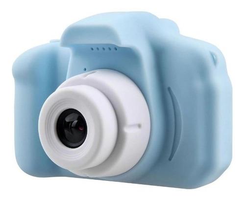Câmera Infantil Mini Efeitos Fotos Voz Recarregável Display