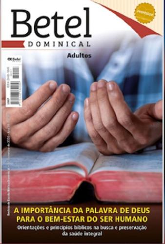 Revistas Professor Adulto Editora Betel